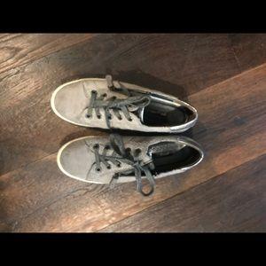 Paul Green sneaker size 10 gray zip